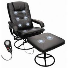 office reclining chair. leisure heated reclining massage chair with ottoman office c