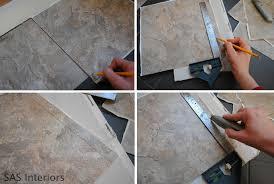 cutting vinyl flooring