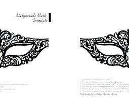 Masquerade Mask Template Simple Masquerade Mask Template Pinterest Free Printable Templates Masks