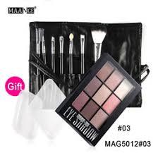 maange pro makeup beauty set eyeshadow palette shimmer matte eye shadow cosmetics eye make up brushes kit with silispong blender