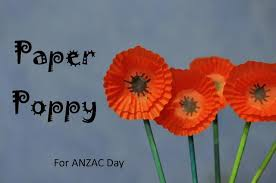 Make A Paper Poppy Flower Anzac Day How To Make A Paper Poppy Be A Fun Mum
