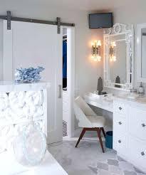 built in makeup vanity in closet new bronze chandelier with crystal accents makeup vanity set closet