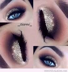 best ideas for makeup tutorials gold glitter eye makeup by glam fashion usa