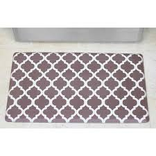 Kitchen Comfort Floor Mats Chef Gear Comfort Quatrefoil Anti Fatigue Kitchen Mat Reviews