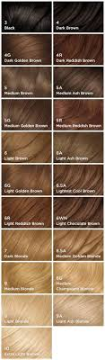 Unique Miss Clairol Nice And Easy Color Chart Nice N Easy