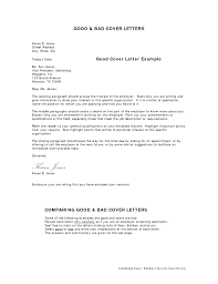 Sample Best Cover Letter For Resume You Middle Good Letters