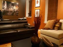 Burnt Orange And Brown Living Room Property Awesome Decorating Design