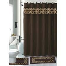 bathroom shower curtain and rug sets chocolate bathroom accessories set bath mat contour rug shower curtain bathroom rugs shower curtain sets bathroom
