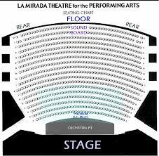 La Mirada Theater Seating Chart Buy Reg Tickets Tmb Black