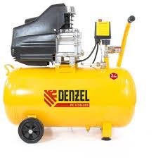<b>Компрессор масляный Denzel PC</b> 1/50-205, 50 л, 1.5 кВт — купить ...