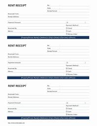 Rent Payment Receipt Rent Payment Receipt Template Awesome Rent Receipt Template