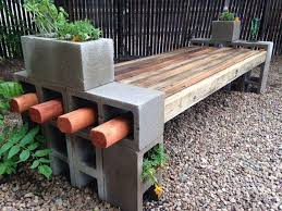 Cinder block furniture backyard 10 Ways to Use Cinder Blocks