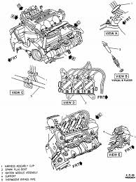 sfi v engine diagram image wiring diagram 96 chevy lumina coil pack fireing far left the cylinder numbers on 3100 sfi v6 engine