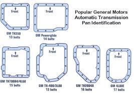 Chevrolet Transmission Identification Chart Automatic Trans Dimensions