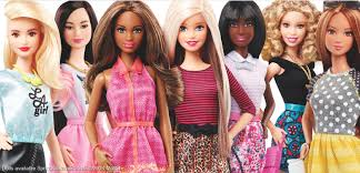 this photo provided by mattel shows new barbie dolls mattel the toy pany behind