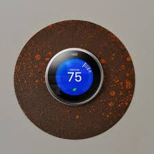 nest wall plate nest thermostat wall