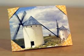 paper photo frame with corners via handmade ideas 5x7 diy simple