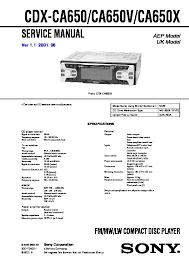 sony cdx ca650x, cdx ca660x, cdx ca690x service manual free download Sony Cdx Mp40 Wiring-Diagram cdx ca650, cdx ca650v, cdx ca650x service manual