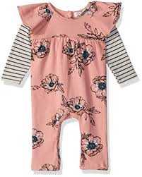 Jessica Simpson Baby Clothes Unique Amazon Jessica Simpson Baby Girls Floral Coverall Clothing