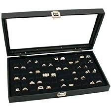amazon whole 6 pcs gl top ring jewelry display cases everything else