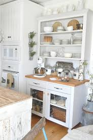 rustic white kitchens. Pottery Barn 7 Rustic White Kitchens U