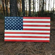 american flag painted on wood image 0 wooden pallet