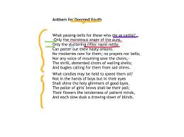anthem for doomed youth wilfred owen anthem for doomed youth wilfred owen