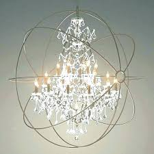 metal orb chandelier awesome images large world market wood and metal orb chandelier