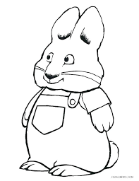 Max And Ruby Coloring Pages Coloring Pro