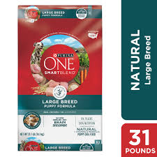 Simply Nourish Large Breed Puppy Food Feeding Chart Purina One Natural Large Breed Dry Puppy Food Smartblend Large Breed Puppy Formula 31 1 Lb Bag Walmart Com
