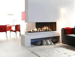 double sided electric fireplaces two fireplace canada