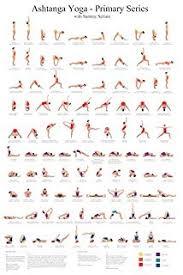 Amazon Com Ashtanga Primary Series Practice Chart Prints