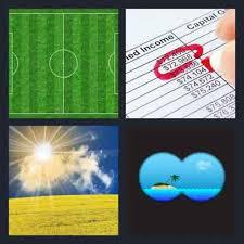 4 pics 1 word field
