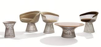 coffee table by warren platner knoll platner arm chair by warren platner