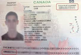 In Is Document Status Number My Canada Where