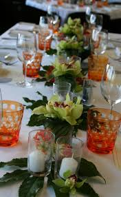 Tropical tablescape. Orchid CenterpiecesCenterpiece ...
