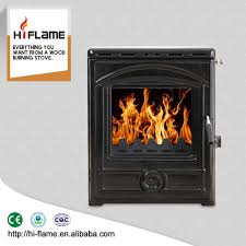 hiflame cast iron water jacket wood burning fireplace insert with steel hf357ib