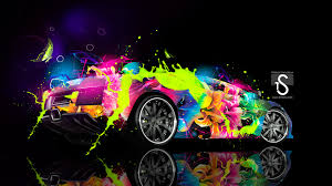 lamborghini murcielago abstract car