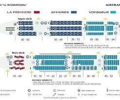 Airbus Interior Air Seat Map Plan A380 Seating Chart China