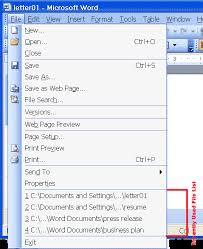 microsoft word menus microsoft word 2003 help