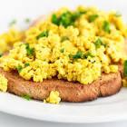 basic breakfast tofu scramble