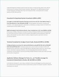 Sap Hr Resume Sample Unique Sample Hr Generalist Resume Luxury Hr Generalist Resume Sample