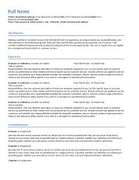 customer service resume customer service resume templates customer service resume example 01