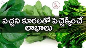 Health Benefits Of Green Leafy Vegetables Telugu Health Tips