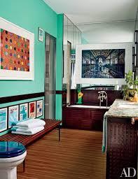 23 Charming And Colorful Bathroom DesignsColorful Bathroom