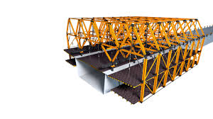 cantilever formwork for steel composite bridges and partially pre cast concrete bridges highlights