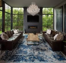 dallas linear strand crystal chandelier family room with