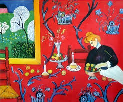 henri matisse harmony in red oil painting