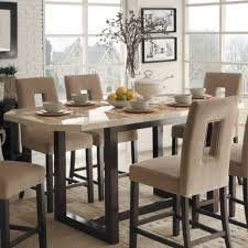 Tall Dining Room Table Sets MSMBEOrg - Tall dining room table chairs