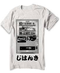 Japanese Vending Machine Dress New Japanese Tshirt Vending Machine Coca Cola Shirt Japan Etsy